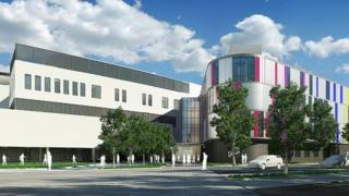 Artist's impression of the neuroscience centre