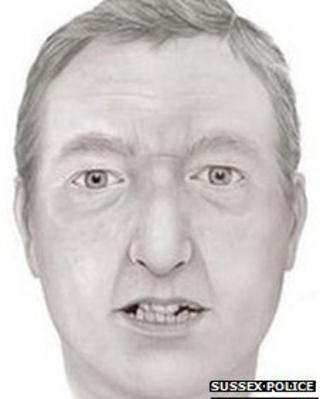 Facial reconstruction of man washed up on Cooden Beach