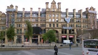 Triangle shopping centre, Cornmarket, Manchester