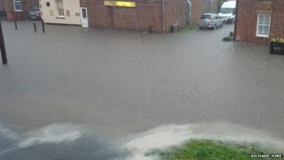 Flooded Market Weighton