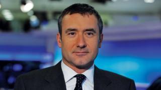 Sky News reporter Colin Brazier