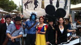 Performers at Avignon Festival