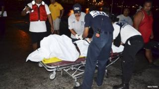 Workers in American Samoa recover Haris Suleman's body