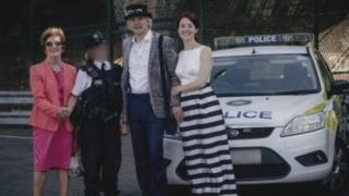 Paul Webster and Meabh Cormicain on their wedding day