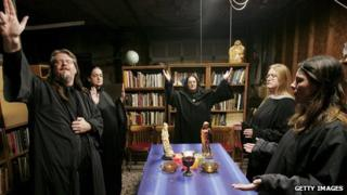 Wicca lunar ritual