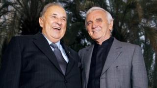 Carlo Bergonzi and Charles Aznavour