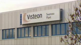 Visteon's Swansea plant