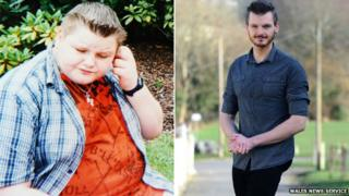 Nathan Hewitt was a 23st teenager in Merthyr and is now coaching on weight loss