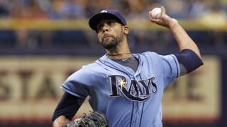 Major League Baseball player David Price.