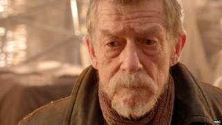 John Hurt in Dr Who
