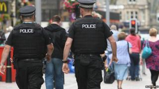 Firearms officers in Inverness