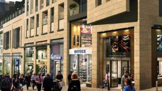 View of 185-221 Buchanan Street