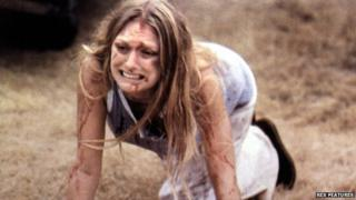Marilyn Burns in The Texas Chain Saw Massacre