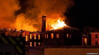 Fire at St Crispin Psychiatric Hospital