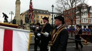 The Apprentice Boys of Derry are among the loyal orders which are backing the Maiden City Accord