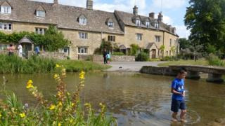 Houses in Lower Slaughter
