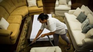 Brazilian domestic worker, Cassia Mendes