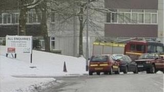 Fire crews at scene of gas blast in Bristol