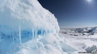 File image of Arctic landscape, Lancaster Sound, Nunavut, Canada
