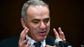 Garry Kasparov. April 2014