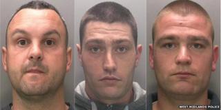 Gavin Hunt, Jamie Dixon and Christopher Dixon