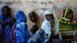 Internally displaced women in CAR - June 2014