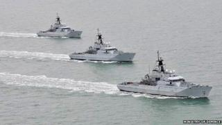 Current River Class offshore patrol vessels