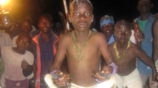 Bukusu circumcision ceremony in Kenya - August 2014