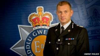 Gwent Police Chief Constable Jeff Farrar