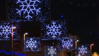 Blackpool illuminations in 2012