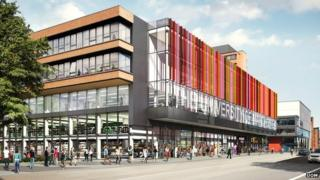 University of Manchester redevelopment