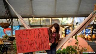 Grow Heathrow eviction campaign