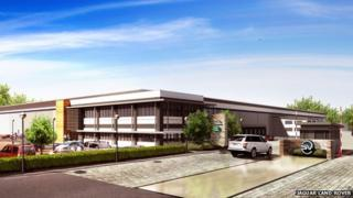 Artist's impression of the Special Vehicle Operations Technical Centre