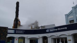 Guernsey Electricity shop and power station