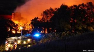 Fire at Spittal of Glenshee hotel