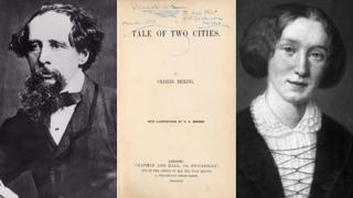 Charles Dickens, George Eliot (Mary Ann Evans) and the signed copy of A Tale of Two Cities