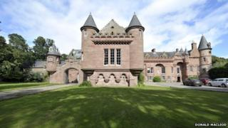 Hospitalfield House in Arbroath
