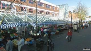 Angel Place market