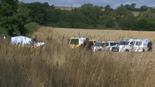Site of Padbury aircraft crash