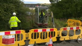 Engineers working to restore gas supplies in Nantyglo