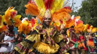 Notting Hill Carnival procession