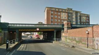 Central Bridge in Southampton