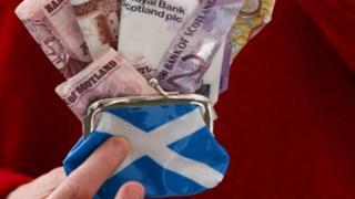 Money in purse