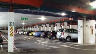 Castlepoint car park in Bournemouth