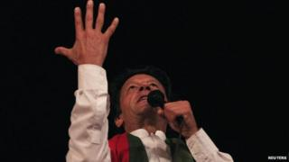 Imran Khan, 28 Aug