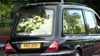 James Nesbitt funeral