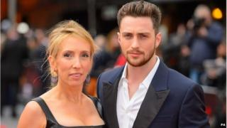 Sam Taylor-Johnson and actor husband Aaron
