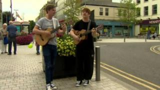 Newry has now established itself as a colourful, vibrant city