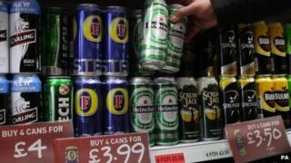 Cut-price alcohol