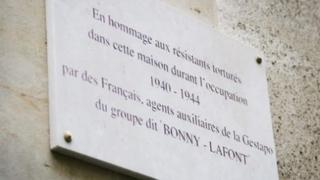 Original plaque
